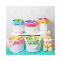 Personalized Soft and Light Easter Basket
