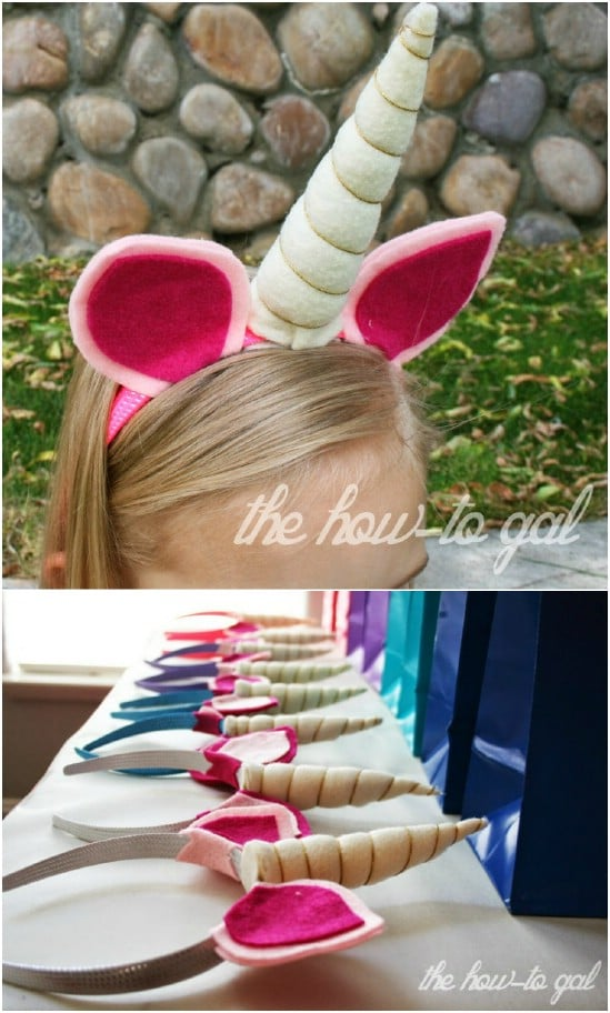So-Easy DIY Unicorn Headband