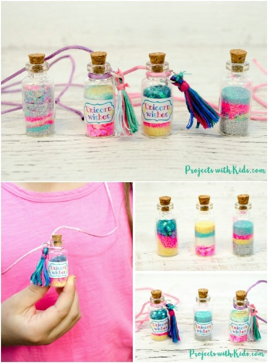 Gorgeous DIY Unicorn Necklace