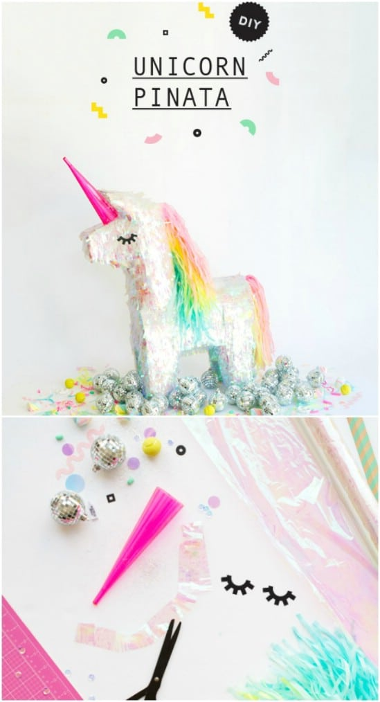 DIY Unicorn Pinata Makeover