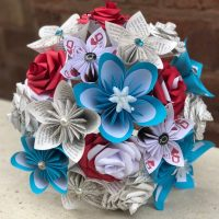 Alice in Wonderland paper flower