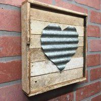Rustic Metal Heart Wall Decor