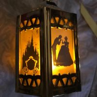 Cinderella - Battery-Operated Plastic Mini Lantern