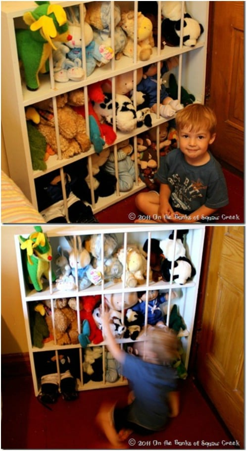 Cute DIY Stuffed Animal Zoo