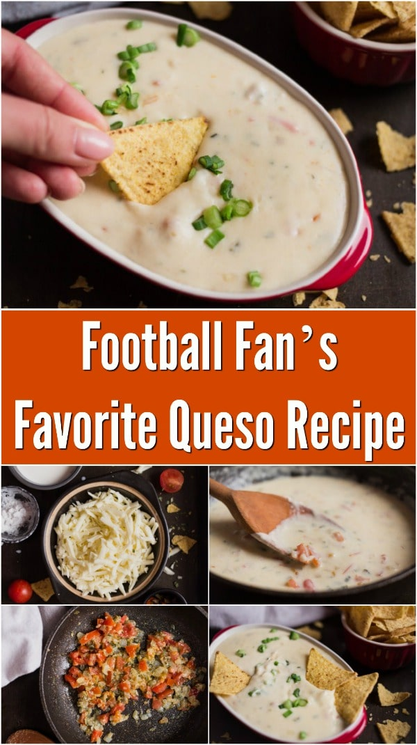 Football Fan's Favorite Queso Recipe