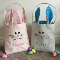 Super Cute Personalised Bunny Face & Ear Bag