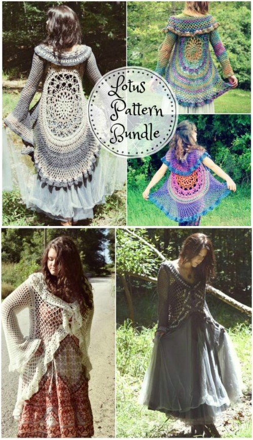 40 Crochet Jacket Sweater And Cardigan Patterns For All Seasons