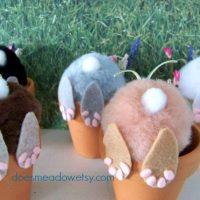 Curious Little Bunny Pots