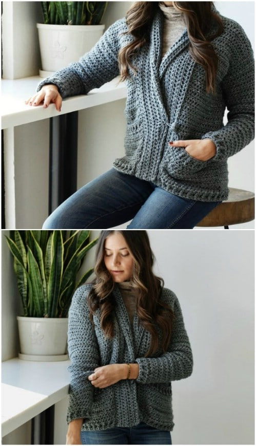 Great Little Pocketed Cardigan