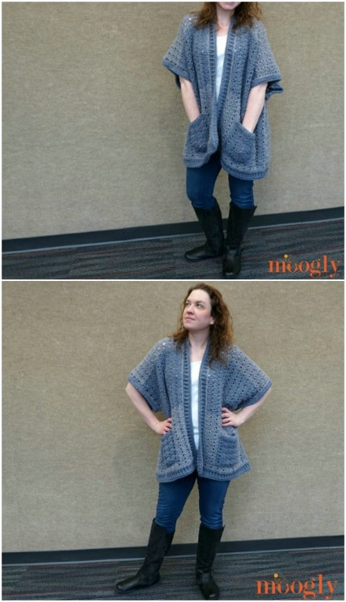 7e4e59dbe 40 Crochet Jacket, Sweater and Cardigan Patterns For All Seasons ...