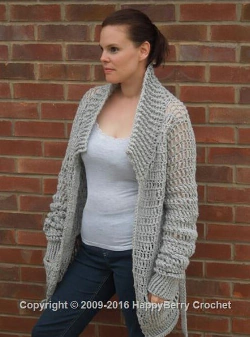 Easy Baggy Cardigan