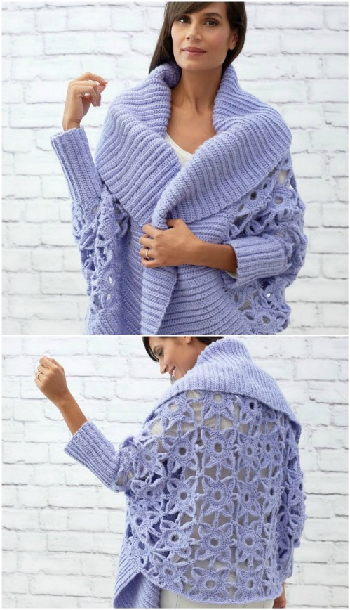 Gorgeous Granny Lace Cardigan