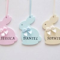 Personalized Easter bunny rabbit gift