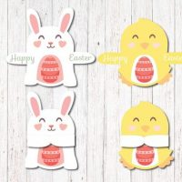 Printable Easter Candy Huggers