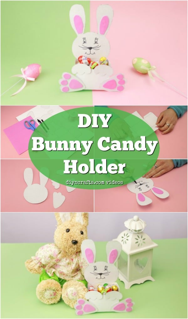 Printable Easter Bunny Treat Holder