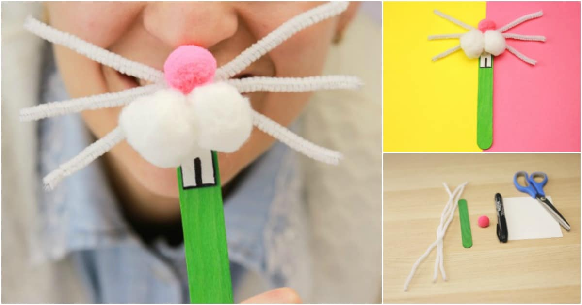 How To Make A Cute Diy Bunny Nose For Easter Diy Amp Crafts