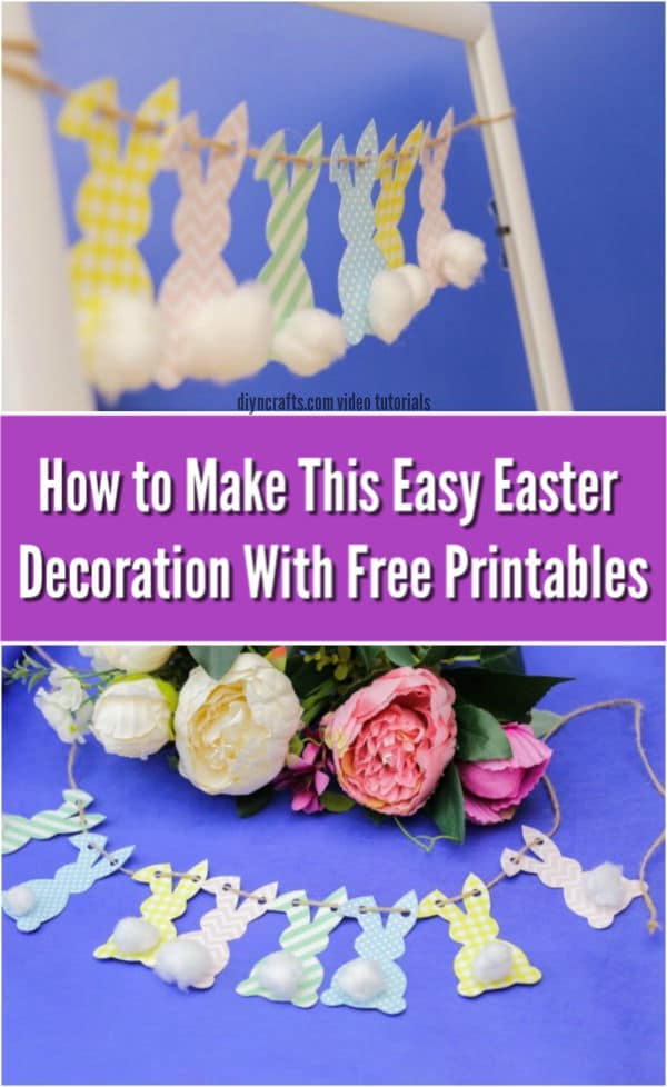 It's just an image of Printable Easter Decorations throughout page