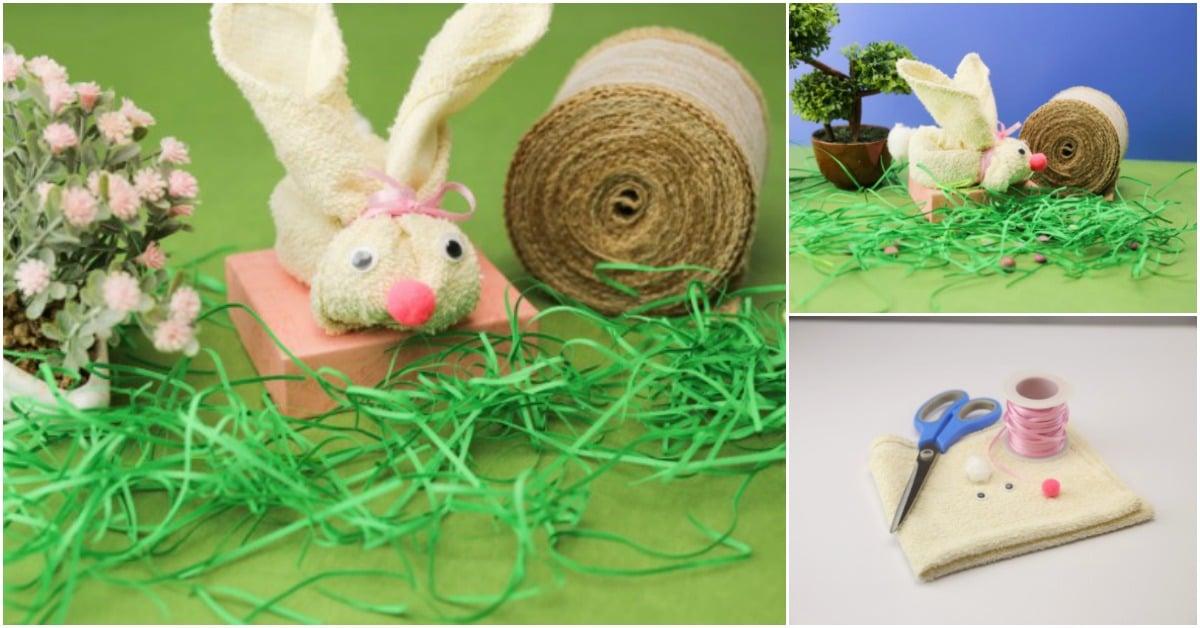 Expattern: Napkin Rabbit Bunny Pattern Instruction - Oshiboriart | 628x1200