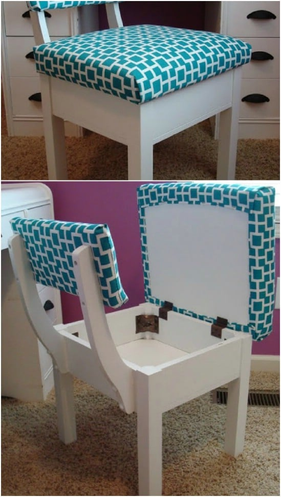 Secret Compartment Chair