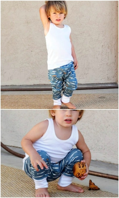 Basic Newborn Jogger Pattern