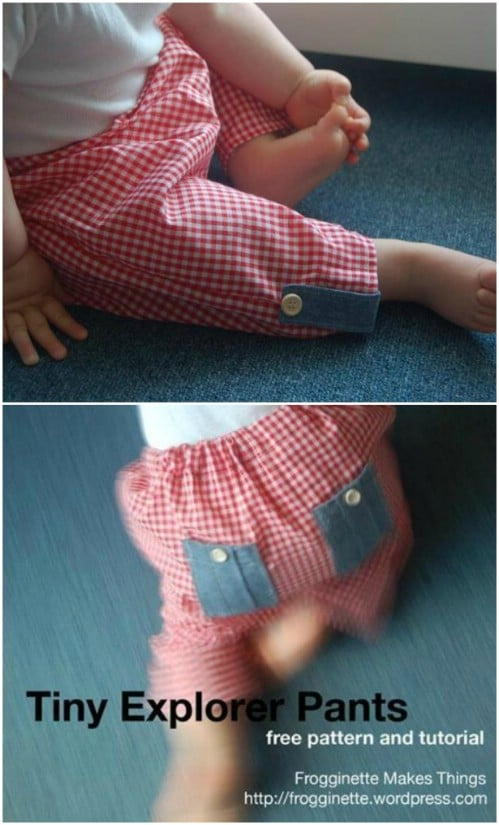 Tiny Explorer Pants Pattern
