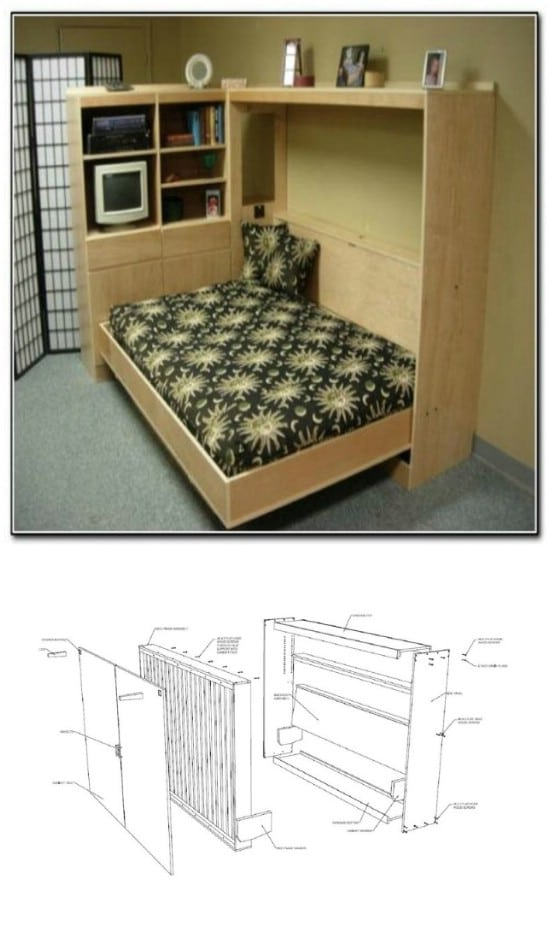 Hidden Murphy Bed