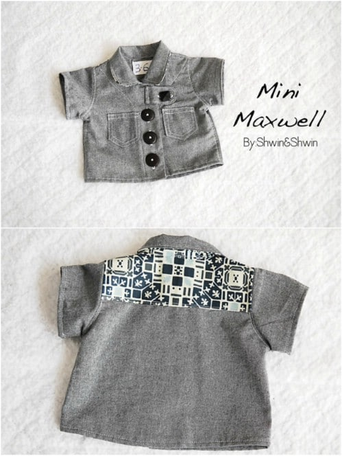 So Cute – Mini Maxwell Shirt