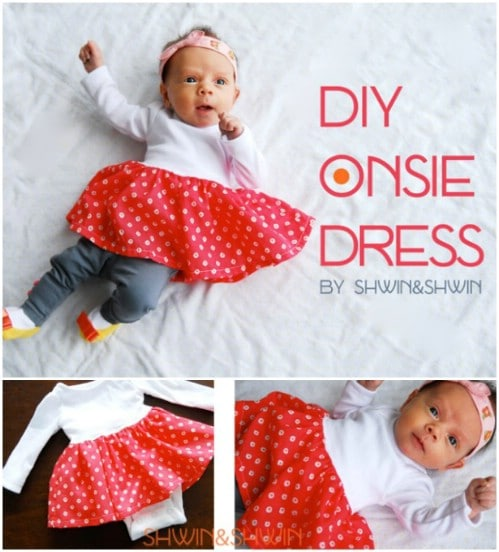 Simple To Sew Onesie Dress