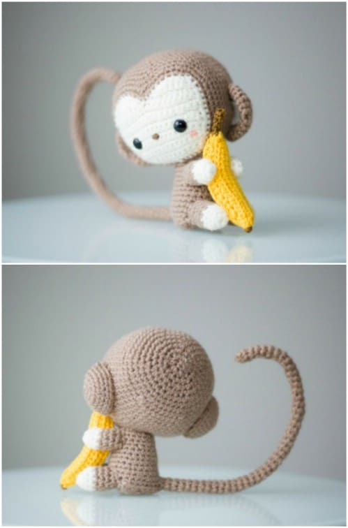 Easy Crochet Chinese New Year Monkey