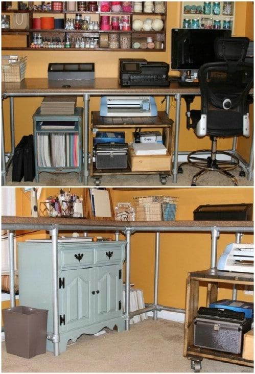 Custom Counter Top Craft Desk