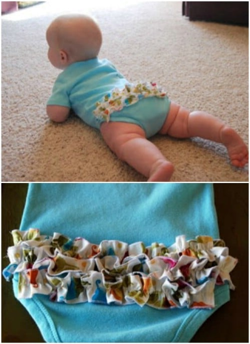 Cute Ruffle Butt Onesie Pattern