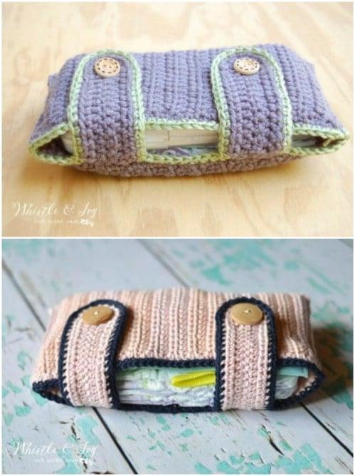Crochet Diaper Pouch Pattern