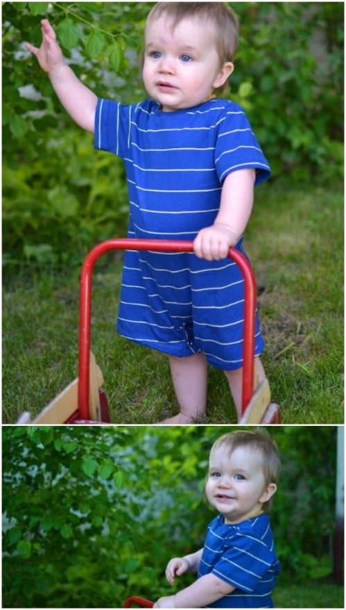 Simple Summer Romper Pattern