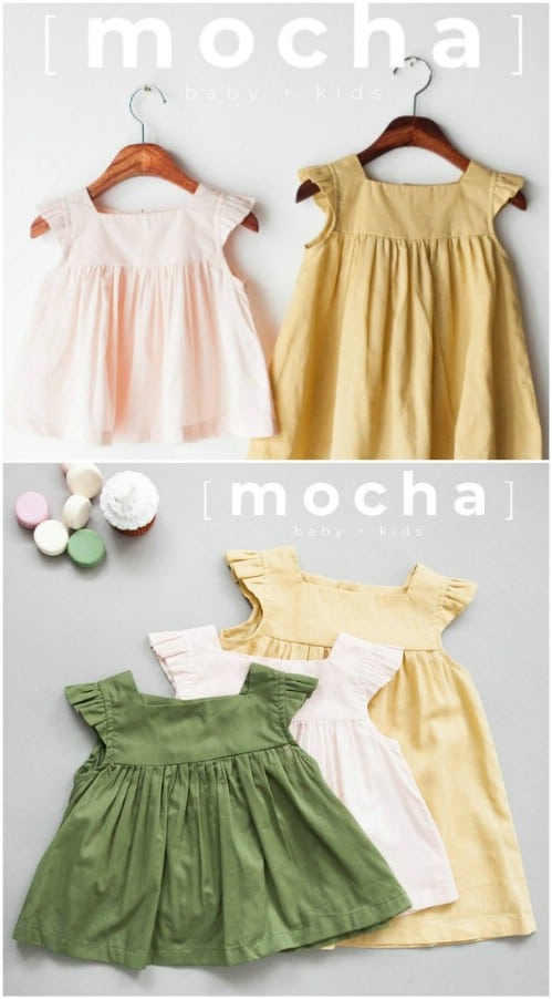 Simple DIY Baby Dress