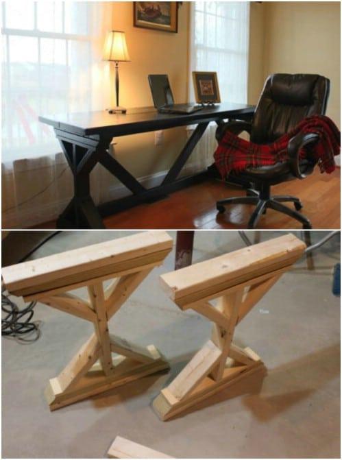 The Ultimate DIY Wooden Desk