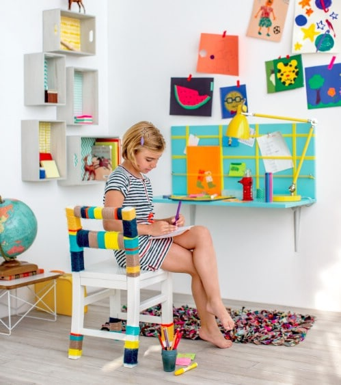 Cheap And Simple DIY Kids' Desk