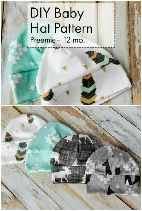 Easy DIY Baby Cap Pattern