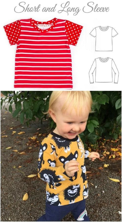 Baby T-Shirt Pattern