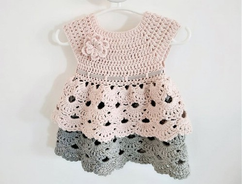 Beautiful Crochet Dress Pattern