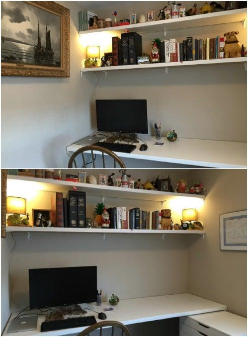 Countertop IKEA Hack Desk