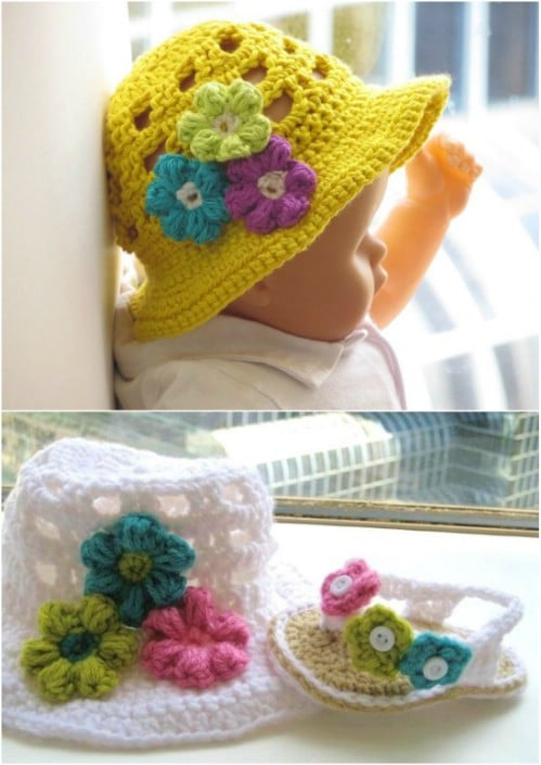 Adorable Crochet Sunhat Pattern