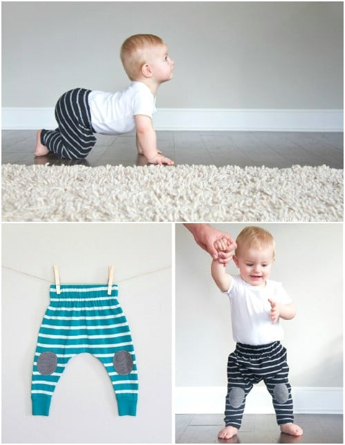 20 Minute Baby Boho Leggings
