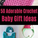 Crochet Baby Gift Ideas Collage
