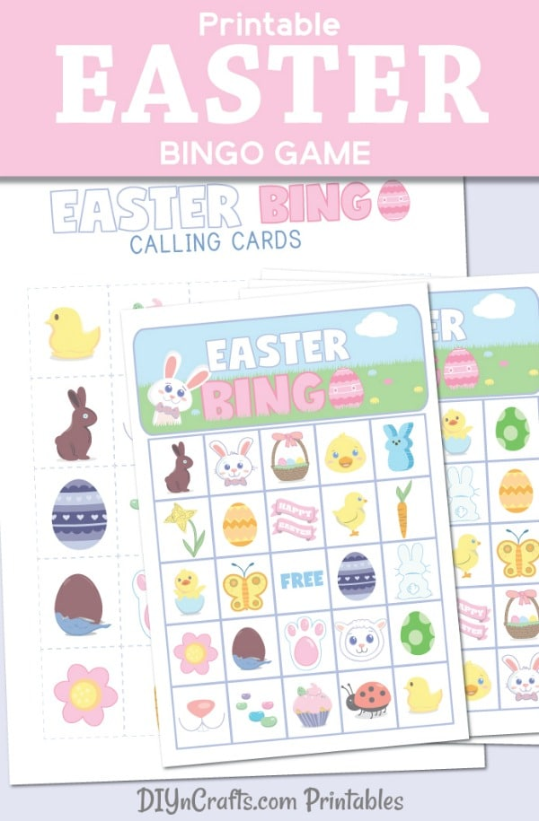 picture about Printable Bingo for Kids referred to as Simplest Free of charge Printable Easter Bingo Match For Small children Of All Ages