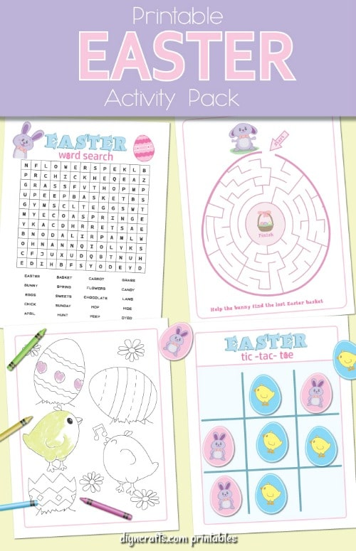 It's just a graphic of Canny Printable Easter Activities