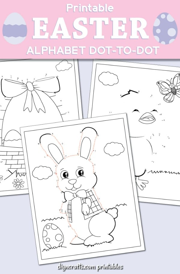 graphic regarding Dot to Dot Printable called Simplest Easter Dot-Towards-Dot Match Internet pages For Small children With Totally free