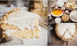 Italian Coconut Cake With Cream Cheese Frosting