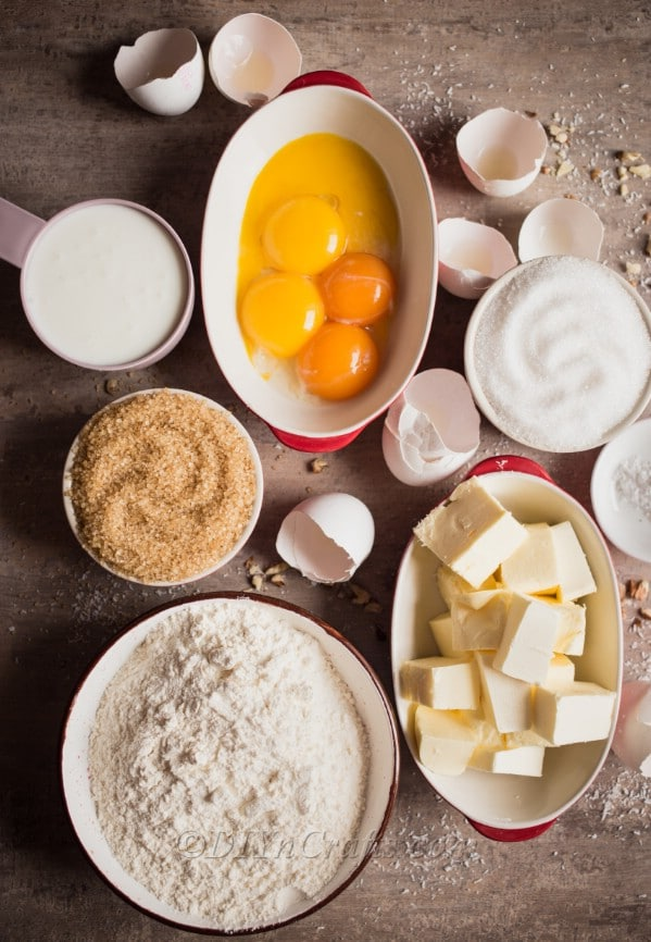 Coconut cheese cake ingredients: