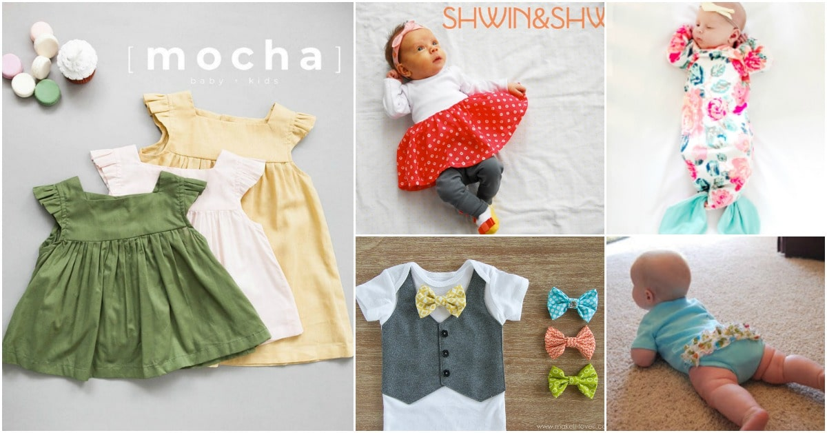 40 Adorable Diy Baby Sewing Patterns Anyone Can Do Diy Crafts