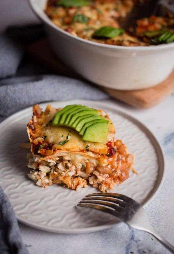 Delicious Chicken Enchilada Casserole Recipe